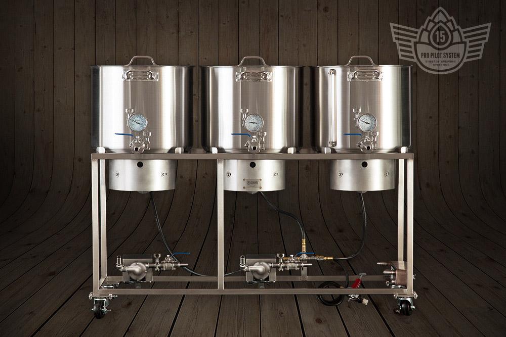 15 Gallon Brewing System