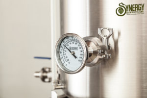 Synergy Brewing Temperature Gauge